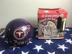 Brunswick Tennessee Titans Viz-A-Ball Bowling Ball Miller Li