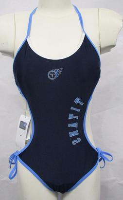 Tennessee Titans Women's One Piece Bathing Suit Swim Wear NF