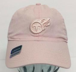 Tennessee Titans Womens Light Cream Pastel Slouch Hat Cap NW