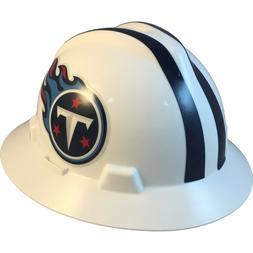 MSA V-Gard FULL BRIM TENNESSEE TITANS NFL Hard Hat Type 3 RA