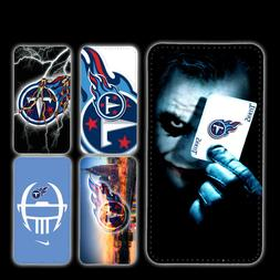 wallet case Tennessee Titans galaxy S7 S8 S8plus S9 S9plus S