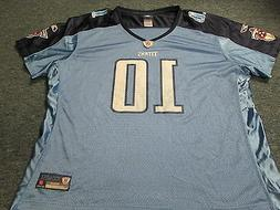 WOMEN'S REEBOK NFL EQUIPMENT TENNESSEE TITANS JAKE LOCKER JE
